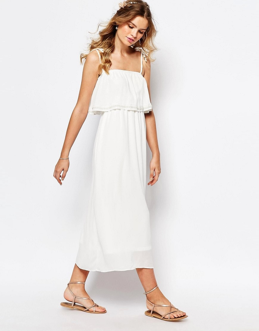 Gorgeous and affordable off the rack maxi wedding dresses picture darccy cami layered maxi dress off the rack maxi wedding dress for less than ombrellifo Gallery