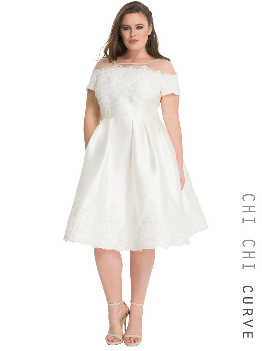 Budget Wedding Dresses For Curvy Brides Saveonthedate