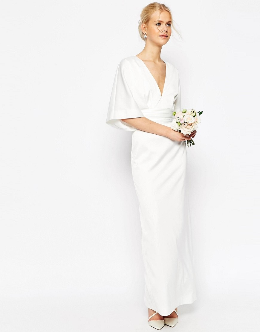Gorgeous and Affordable Off the Rack Maxi Wedding Dresses ...