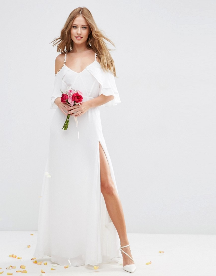 Gorgeous and affordable off the rack maxi wedding dresses theyre positively delirious with the bargainous prices you can nab these beautiful wedding dresses for ombrellifo Choice Image