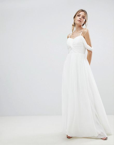 Budget Grecian Wedding Dress - SaveOnTheDate