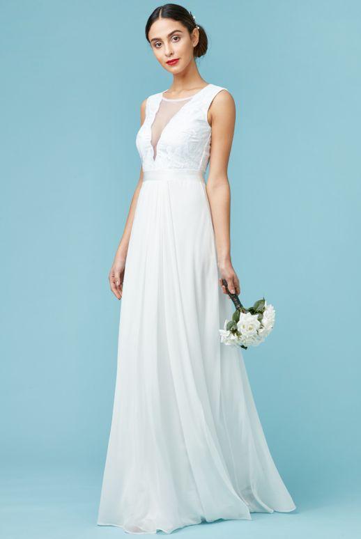 Budget Grecian Wedding Dress - SaveOnTheDate
