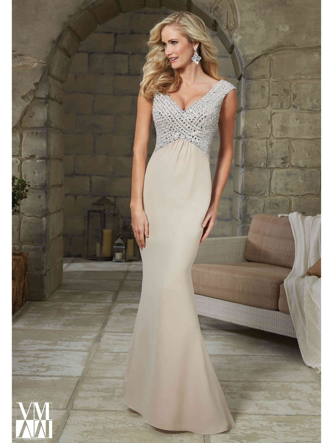 Budget Mermaid Wedding Dress - SaveOnTheDate